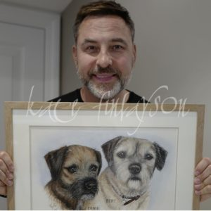 David Walliams And His Dogs